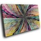 ZAB1407 Colourful Cool Funky Modern Canvas Abstract Wall Art Picture Prints
