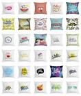26 by 26 pillow case - Hello Summer Throw Pillow Cases Cushion Cover by Ambesonne Home Accent 8 Sizes