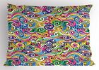 Hand Drawn Pillow Sham Decor Pillowcase 3 Sizes Available for Bedroom Decor image