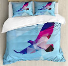 Eagle Duvet Cover Set Twin Queen King Sizes with Pillow Shams Bedding