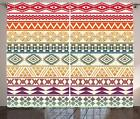 Aztec Curtains 2 Panel Set for Decor 5 Sizes Available Window Drapes