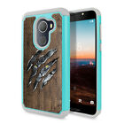 For Alcatel Revvl / A30 Fierce 2017 Kitten Design Rugged Hybrid Case Cover