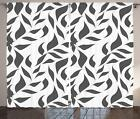 Greyscale Curtains 2 Panel Set for Decor 5 Sizes Available W