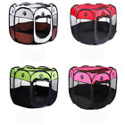 Small Pet Dog Cat Tent Playpen Portable Exercise Play Pen Soft Crate Tent S/M