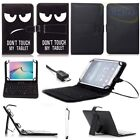 asus tablets with keyboard - PU Leather Case Cover Folio With Micro USB Keyboard For 7