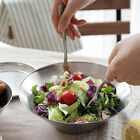 Stainless Steel Salad Bowl Dinner Plates dishes dinnerware fruit bowls Buffet