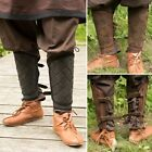 Leather Viking Greaves - Ideal For LARP / Theatre / Costume Use