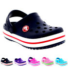 Unisex Kids Crocs Crocband Clogs Casual Beach Holiday Summer Shoes All Sizes