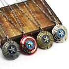 New Captain America Necklace Marvel Move Pendant Avengers Stainless Steel  image