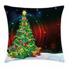 Christmas Season Throw Pillow Cases Cushion Covers Home Decor 8 Sizes Ambesonne