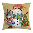 christmas pillow cases - Christmas Season Throw Pillow Cases Cushion Covers Home Decor 8 Sizes Ambesonne
