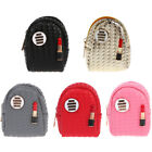 Women Mini Backpack Lipstick Coin Bag Wallet Hand Pouch Purse Key Chain Keyring image