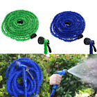 50-200 Feet Deluxe Expandable Flexible Garden Watering Hose with Spray Nozzle