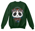 Couple Boy Panda For Valentine S Day Hanes Unisex Crewneck S