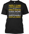 logistics managers - Supply Chain Logistics Manager - We Do Precision Guess Hanes Tagless Tee T-Shirt