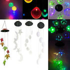 LED Solar Color Changing Wind Chimes Home Garden Yard Window Decor Lights NEW