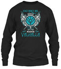 On trend Shieldmaiden Victory Or Valhalla - Gildan Long Sleeve Tee T-Shirt $22.99 USD on eBay