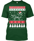 Golden Retriever Merry Christmas - Oi Hanes Tagless Tee T-Shirt