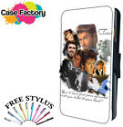 George Michael Singer Collage RIP - Leather Flip Wallet Phone Case Cover