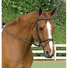 Leather Bridle with Rubber Reins - Horseare Amigo