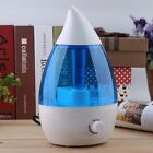 LOT 3.5L Ultrasonic Humidifier Cool Air Diffuser Purifier Home Office Room