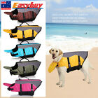 XS Small Medium Extra Large Puppy Dog Life Jacket Pet Safety Vest Preserver