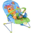 Infant Baby Adjustable Bouncer Rocker Swing Chair Seat Soothing Music Box Gift