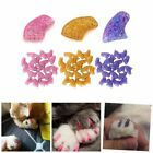 20Pcs Pet Dog Soft Rubber Paw Claw Control Nail Caps Cat Kitten Nail Cover US