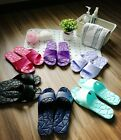 Shower Sandal EVA Drain Slippers Women Men Non-Slip Soft Open Toe