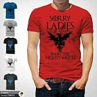 Night s Watch Funny Sorry Ladies Game Of Thrones T Shirt GOT Jon John Snow Red