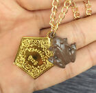 Harry Potter Chocolate Frog Necklace Keychain Stud Earrings Gold Pendants