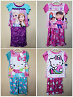 *NWT- HELLO KITTY, DISNEY- BABY TODDLER GIRL'S 2-PC SS PAJAMA SET  - LICENSED