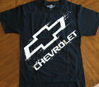 Chevrolet Chevy Logo men's sizes shirt S-3XL T-shirt Black GM Licensed New tee image