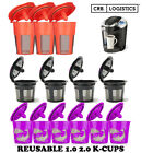 Kyпить Refillable Reusable K-Cup K Carafe Coffee Filter Pod Fits Keurig 2.0 1.0 Coffee на еВаy.соm