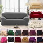 1 2 3 4 Seater Stretch Chair Sofa Covers Couch Cover Elastic Slipcover Protector