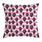 Fruits Throw Pillow Cases Cushion Covers Home Decor 8 Sizes by Ambesonne