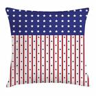 USA Throw Pillow Cases Cushion Covers Home Decor 8 Sizes by Ambesonne