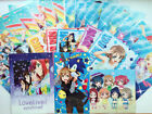 CART SALE!! ALL 1$ Love Live! Sunshine!! Clear File Dia You Mari Kanan Yoshiko..
