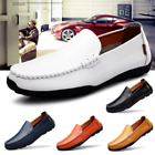 New Mens Driving Casual Boat Shoes Leather Shoes Moccasin Slip On Loafers lot
