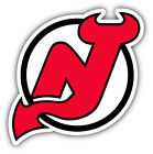 New Jersey Devils NHL Hockey Symbol Round  Car Bumper Sticker- 9'', 12'' or 14'' $13.99 USD on eBay