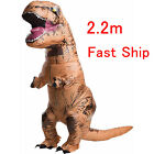 Adult T-Rex Jurassic World Inflatable Dinosaur Costume Blow