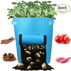 Casolly Potato Grow Bags for Planting With Sturdy Handles - 10 Gallon,2 Pack