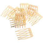 10 Pcs Pettine Per Capelli Fai Da Te Pettini In Metallo Vintage Accessori