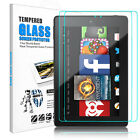 For Amazon Kindle Fire 7 2019/2017/HD 8 2018 HD Tempered Glass Screen Protector