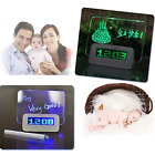 CCdo Kid Digital Alarm Clocks Light Message Memo Board with Highlighter Bedroom