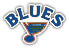 St Louis Blues NHL Hockey Logo Car Bumper Sticker Decal - 3'', 5'', 6'' or 8'' $3.5 USD on eBay