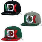 MEXICAN hat MEXICO Flag on MEX Embroidery Snapback Cotton Flat bill Baseball cap