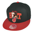 NBA Mitchell Ness G022 Miami Heat Multicolor Flat Bill Fitted Hat Cap on eBay