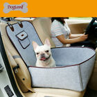 2 In 1 Dog Carrier Cars Single-seat Dog House Bed Travel Cover Protector