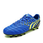 160860 Men Athletic Lace Up Light Weight Outdoor Cleats Football Soccer Shoes